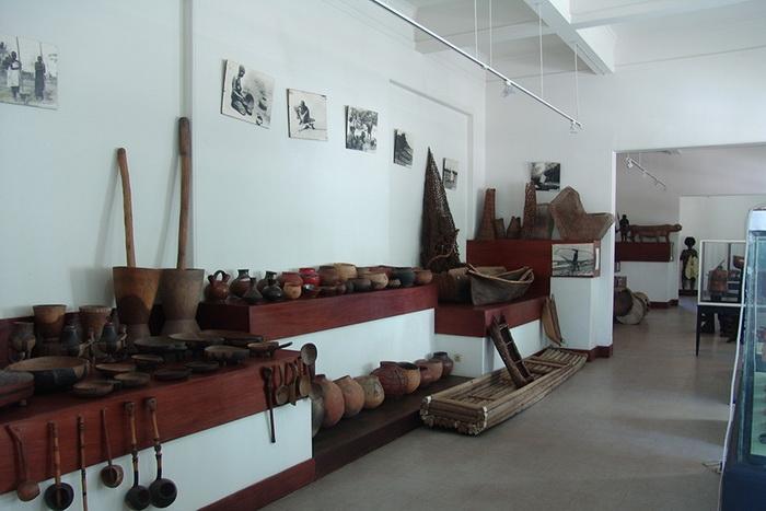 Этнографический музей в столице Мозамбика Мапуту