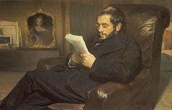 Портрет А.Н. Бенуа работы Леона Бакста 1898 г.