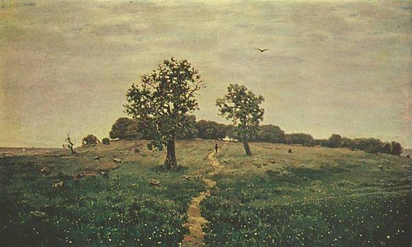 Аполлинарий Васнецов  «Серый денёк (Серенький день)»   1883 г. Третьяковская галерея