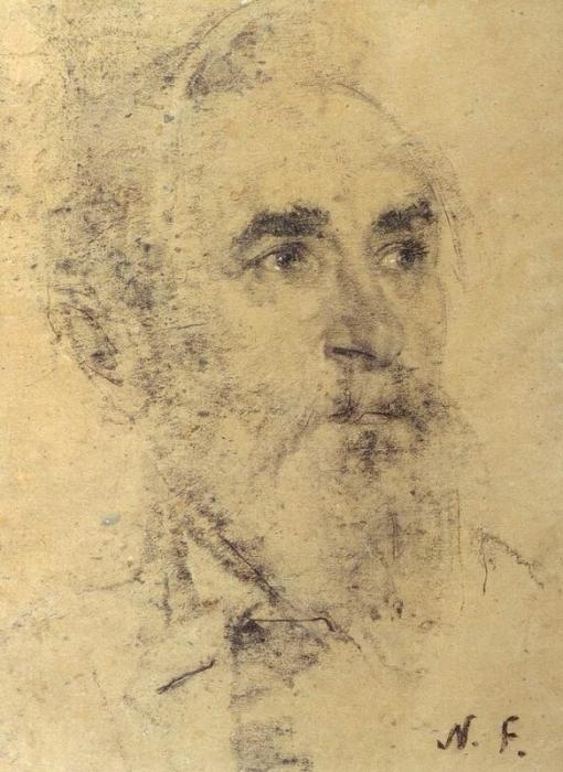 Портрет скульптора С.Т.Конёнкова. 1934 г.