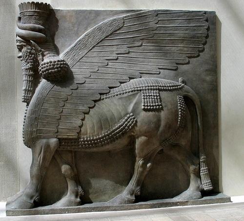Крылатый человекобык (Ассирия)