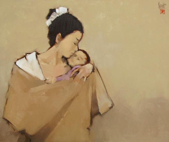 Нгуен Фан Тянь. «Мать и дитя»