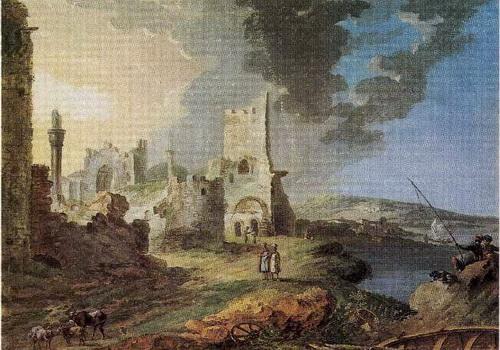 Жан Балтазар де ла Траверс  «Кафа»  (Феодосия) 1788 г.