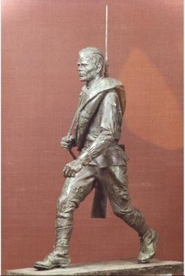 Идущий солдат
