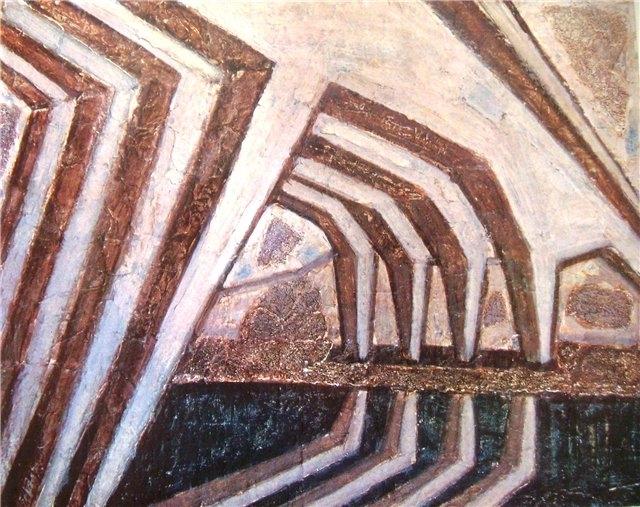 Алоизас Стасюлявичюс. Мост. 1967 г.