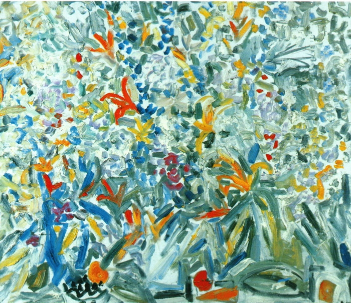 Анна Бирштейн. Лето. 1995 г. Холст, масло. 100х110 см