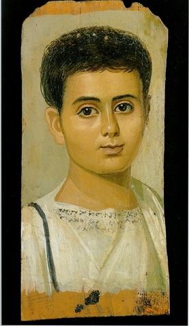 Один из фаюмских погребальных портретов