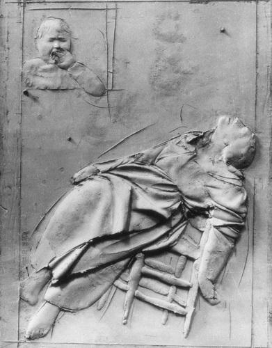 Дж. Манцу. «Смерть на земле»  Фрагмент Врат смерти собора св. Петра в Риме.