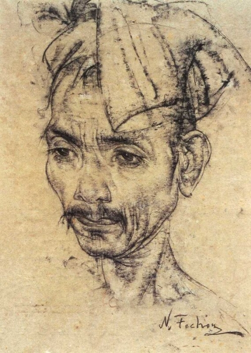 Житель острова Бали. После 1938 г.