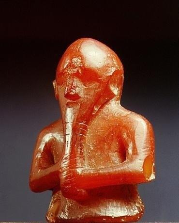 Фигурка бога Тора. Период викингов.
