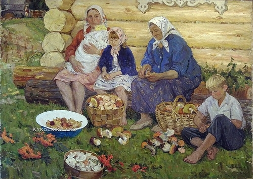 Сайкина Александра Васильевна  «Грибная пора»