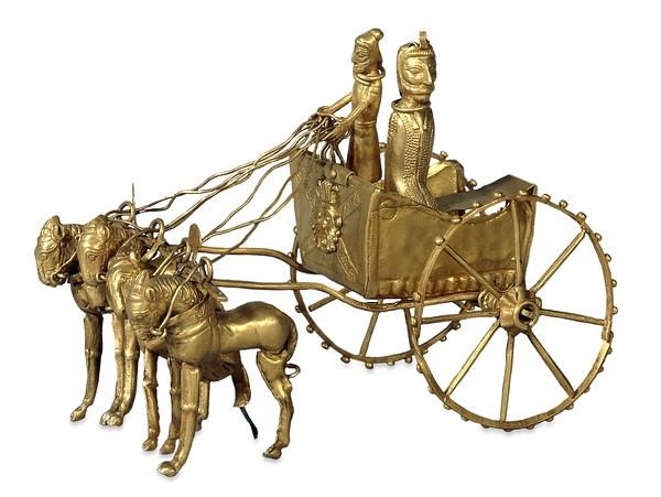 Колесница из Амударьинского клада