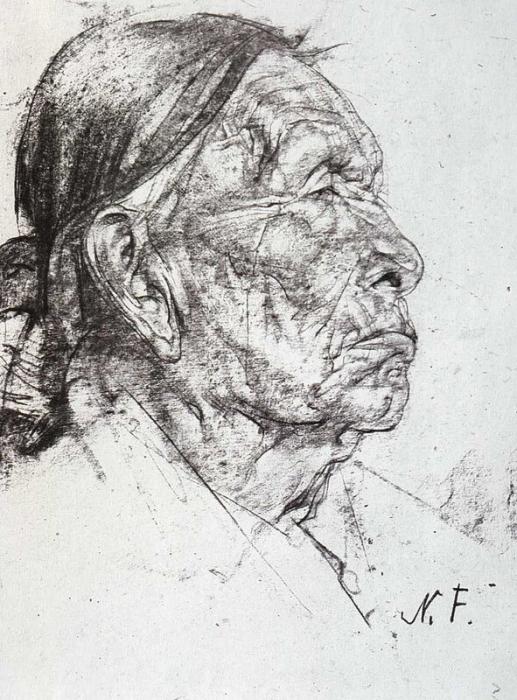 Индеец. 1927—1933 гг.