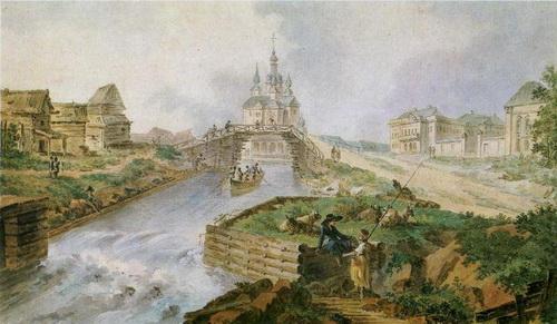 Жан Балтазар де ла Траверс  «Вышний Волочёк»  1786 г.