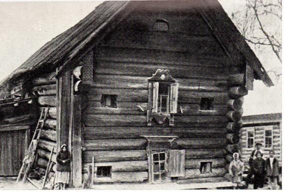 Изба в селе Михайловском
