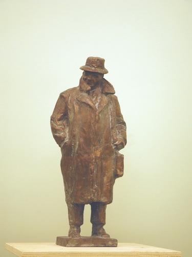 Кочуков Николай Сергеевич «Художник» Бронза. 1967 г.