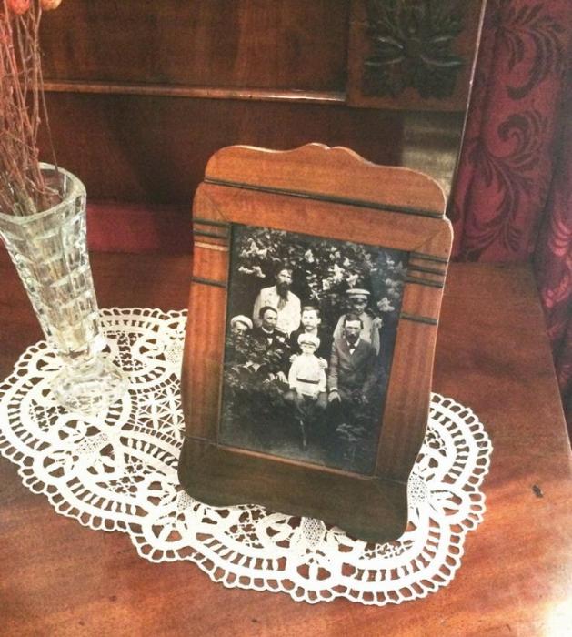 Музей-квартира А. Васнецова в Москве. Фотография семьи Васнецовых.