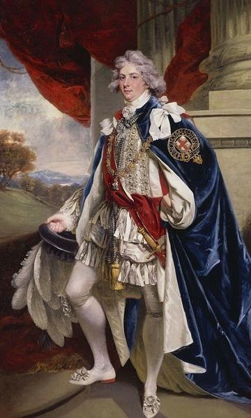 Джон Хоппнер «Портрет принца Уэльского»
