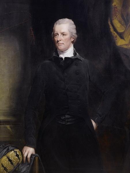 Д. Хоппнер Портрет английского премьер-министра Уильяма Питта-младшего