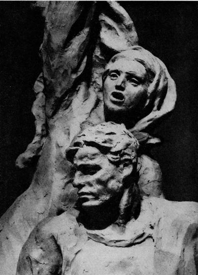 В. Шелов. 1905 год. Гипс. 1956 г.