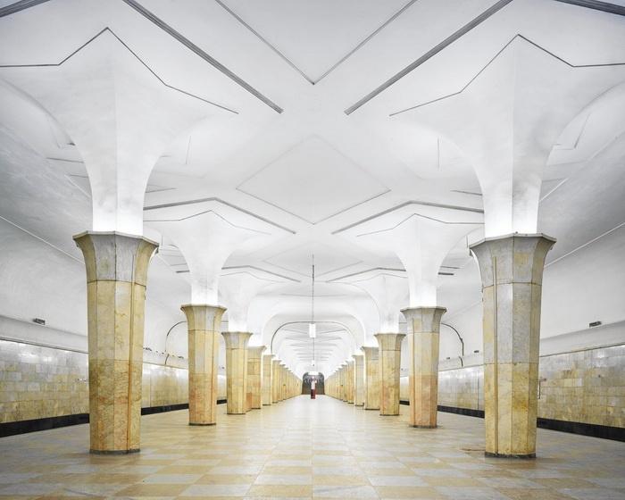 Станция метро «Кропоткинская» в Москве