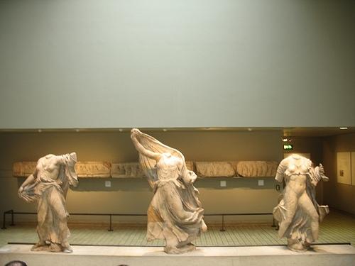Нереиды. Британский музей.