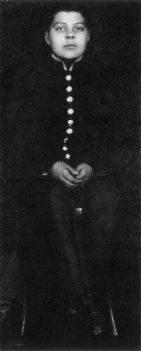 Юра Васнецов - гимназист. 1912 год
