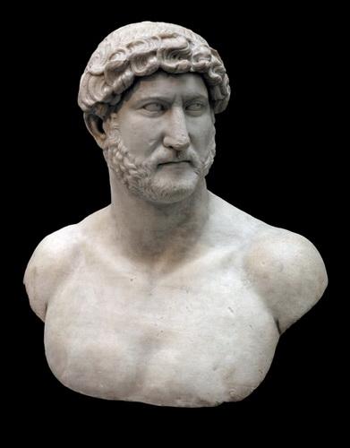 Портрет императора Адриана. Британский музей.