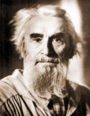 Скульптор Сергей Тимофеевич Конёнков