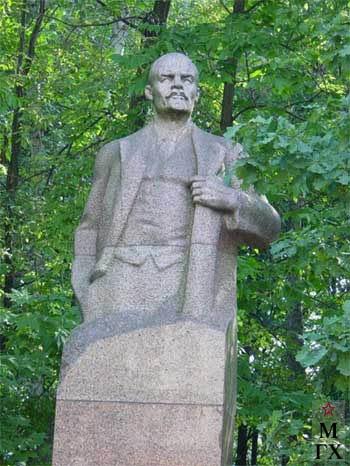 А.П. Кибальников. Памятник В.И. Ленину. Лианозовский электро-механический завод, Москва.