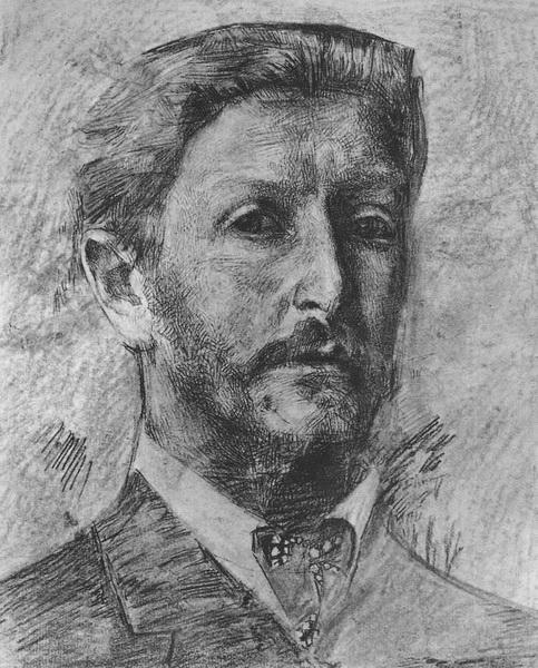 М. Врубель. Автопортрет.
