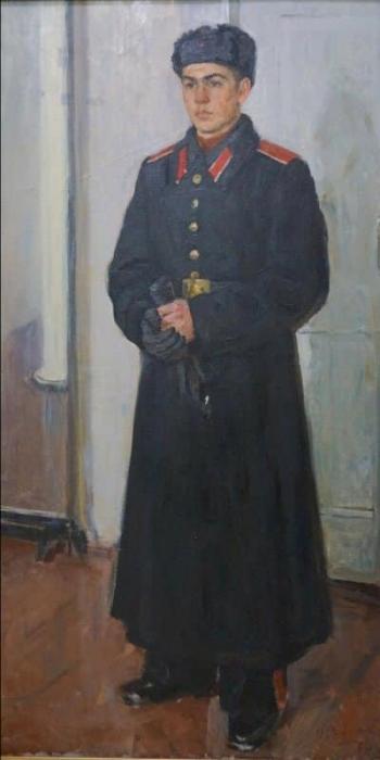 Рафиков Искандер Валиуллович.  Суворовец. 1958 г.