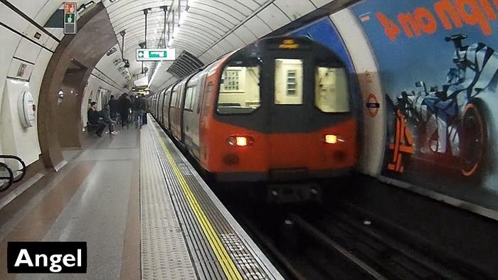 Станция метро «Энджел» в Лондоне. Дата открытия17 ноября 1901 г. (Фотография взята из открытого источника в Интернете).