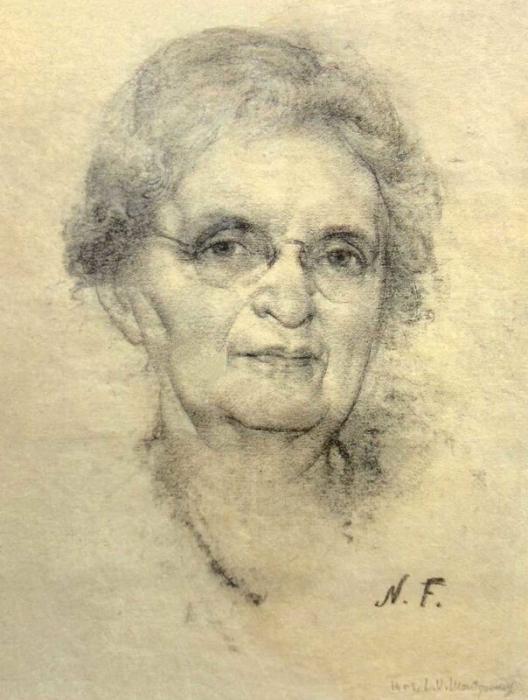 Портрет миссис Монтгомери. 1930-1940-е гг.