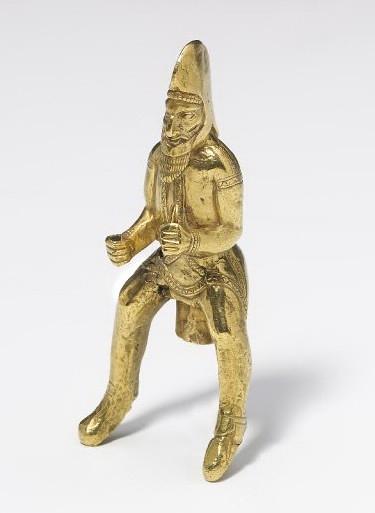 Золотая статуэтка из Амударьинского клада