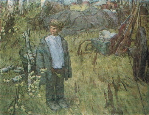Г.Н. Крапивин «Партизанская семья» 1972 г.