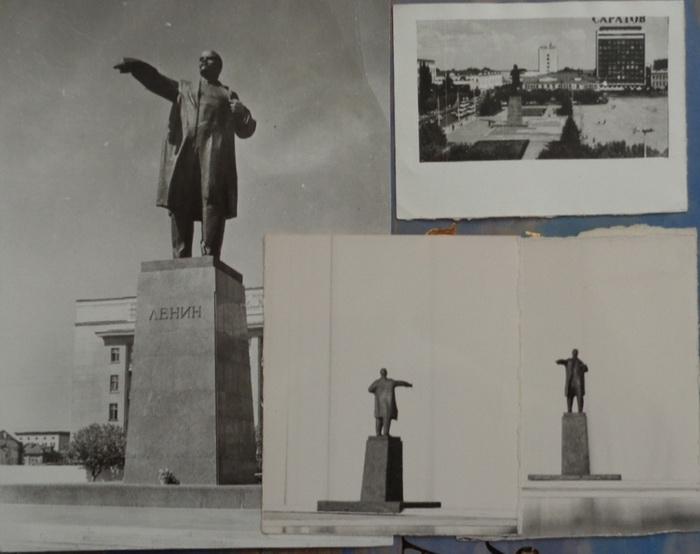 А.П. Кибальников. Макет памятника Ленину в Саратове.