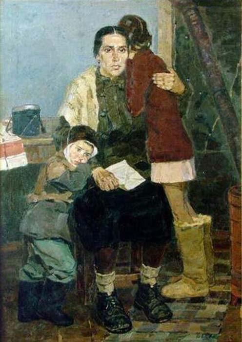 Рафиков Искандер Валиуллович.  В дни войны.