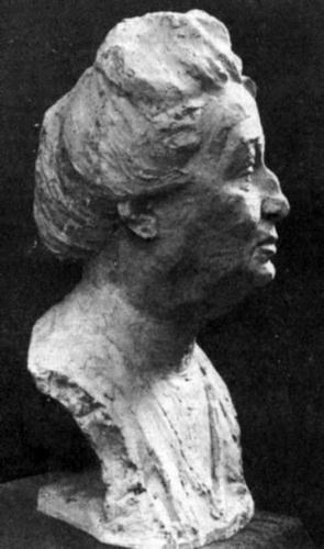 В. П. Астапов, Анна Ахматова  Бронза, 1964 г.