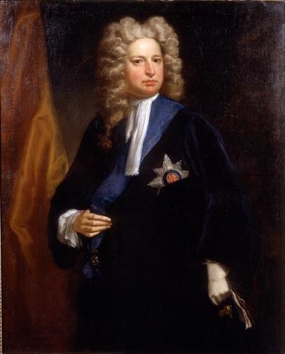 Роберт Харли, портрет кисти Джонатана Ричардсона, примерно 1710 год