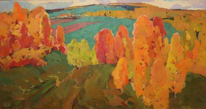 Георгий Александрович Вопилов. Осенний пейзаж.
