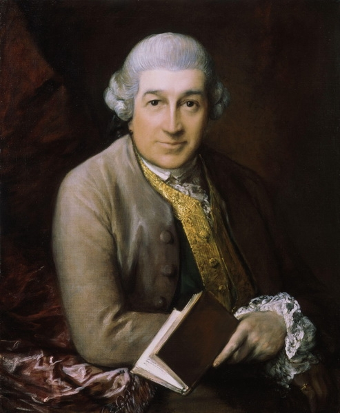 Томас Гейнсборо «Портрет Дэвида Гаррика» 1770 г.