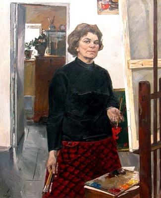 Сайкина Александра Васильевна  «Автопортрет»