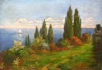 Г.С. Московченко «Вид на море» Холст, масло. 1936 г.