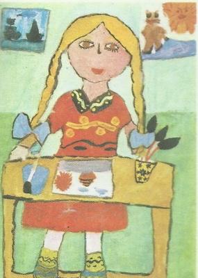 Света Скобелева, 6 лет. Изостудия «Солнышко», Ярославль. Юная художница. Гуашь.