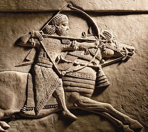 «Ашшурбанапал на охоте». Фрагмент барельефа. Ниневия, Ассирия, 645–635 гг. до н.э.