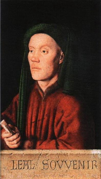 Ян ван Эйк. «Тимофей». 1432 г. Дуб, масло. Национальная галерея (Лондон).