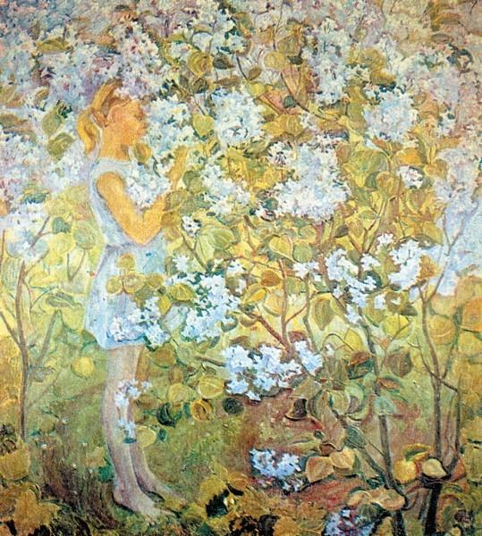 Нелли Евгеньевна Баранчук. «Весна» Холст, масло.