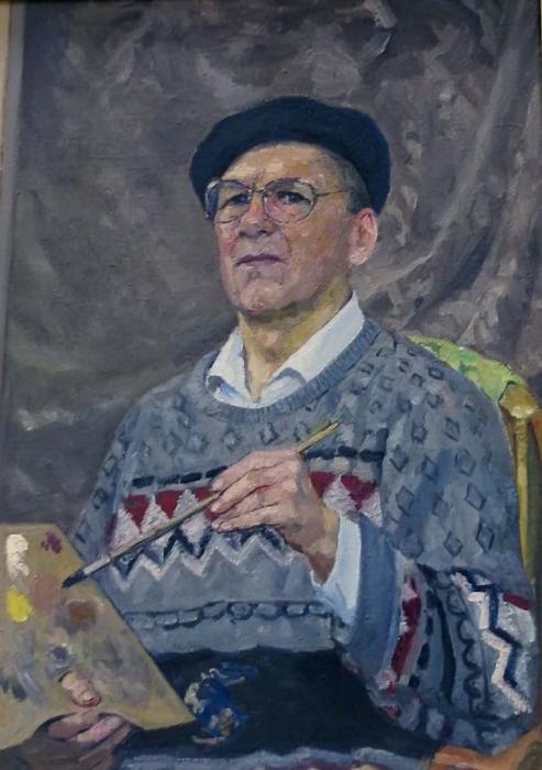 Рафиков Искандер Валиуллович.  Автопортрет. 2003 г.